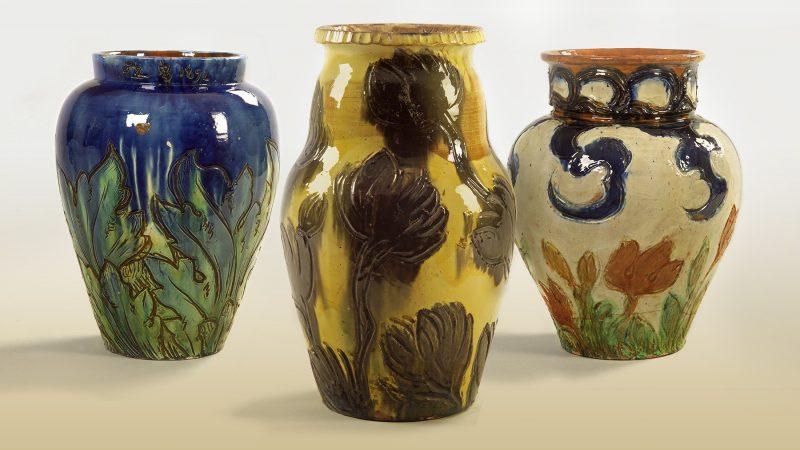 """Bølle - Thorvald Bindesbølls keramik"". Udstilling. Skagens Museum. Skagens Kunstmuseer."