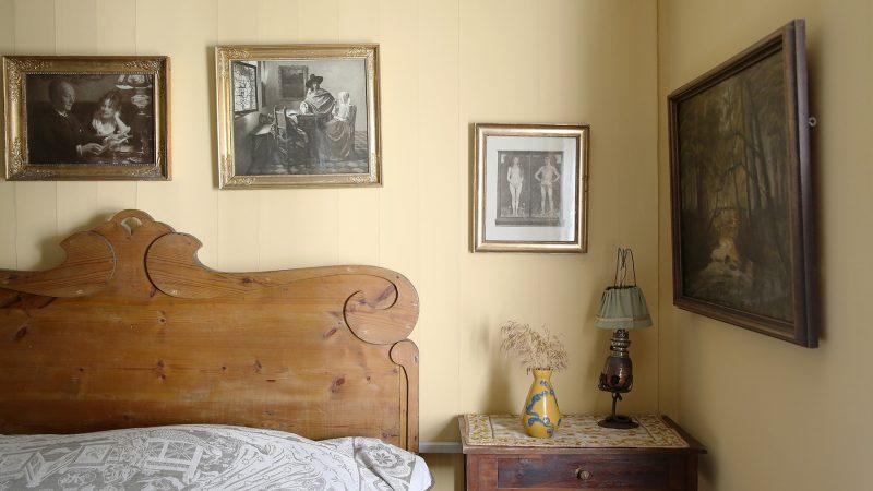 Drachmanns soveværelse. Skagens Kunstmuseer.