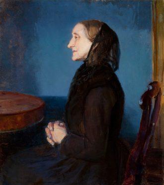 Anna Ancher. Portræt af Ane Hedevig Brøndum (ca. 1893) | Anchers Hus
