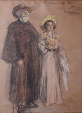 Soffi og Holger Drachmann