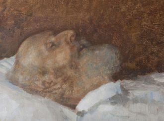 Julius Paulsen. Drachmanns dødsmaske | Drachmanns Hus