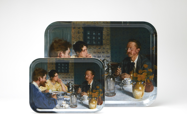 """Serveringbakkker """"Ved bordet"""" i 2 størrelser"""
