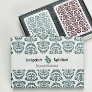 bbbridgekort grøn mønster
