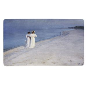 daekkeservietter | P.S. Krøyer | Sommeraften på Skagen Sønderstrand