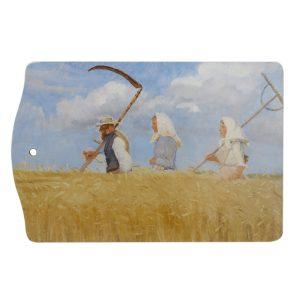 Skærebræt | Anna Ancher | Høstarbejder