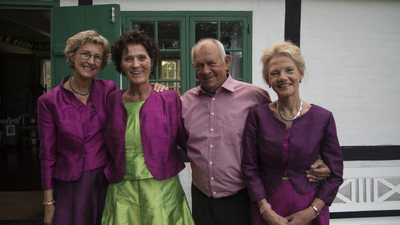 Drachmannpigerne foran Drachmanns Hus | Skagens Kunstmuseer