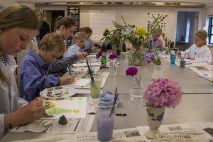 Malerskole for børn   Skagens Kunstmuseer