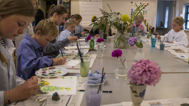 Malerskole for børn | Skagens Kunstmuseer