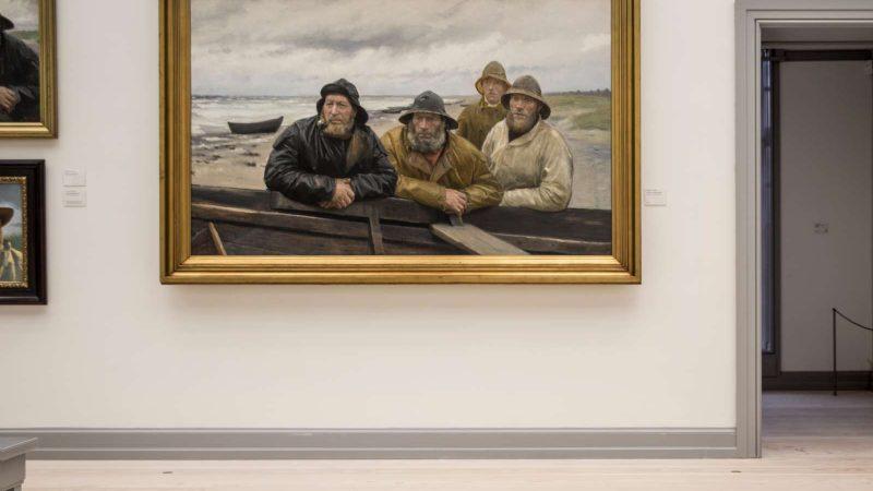 Installation view | Fokus - fikspunkter fra samlingen | Skagens Museum