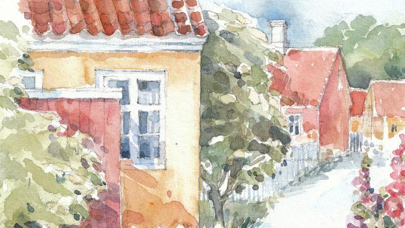 Malerskole for voksne med Ane Bjerg Thomsen på Skagens Museum, sommer 2017