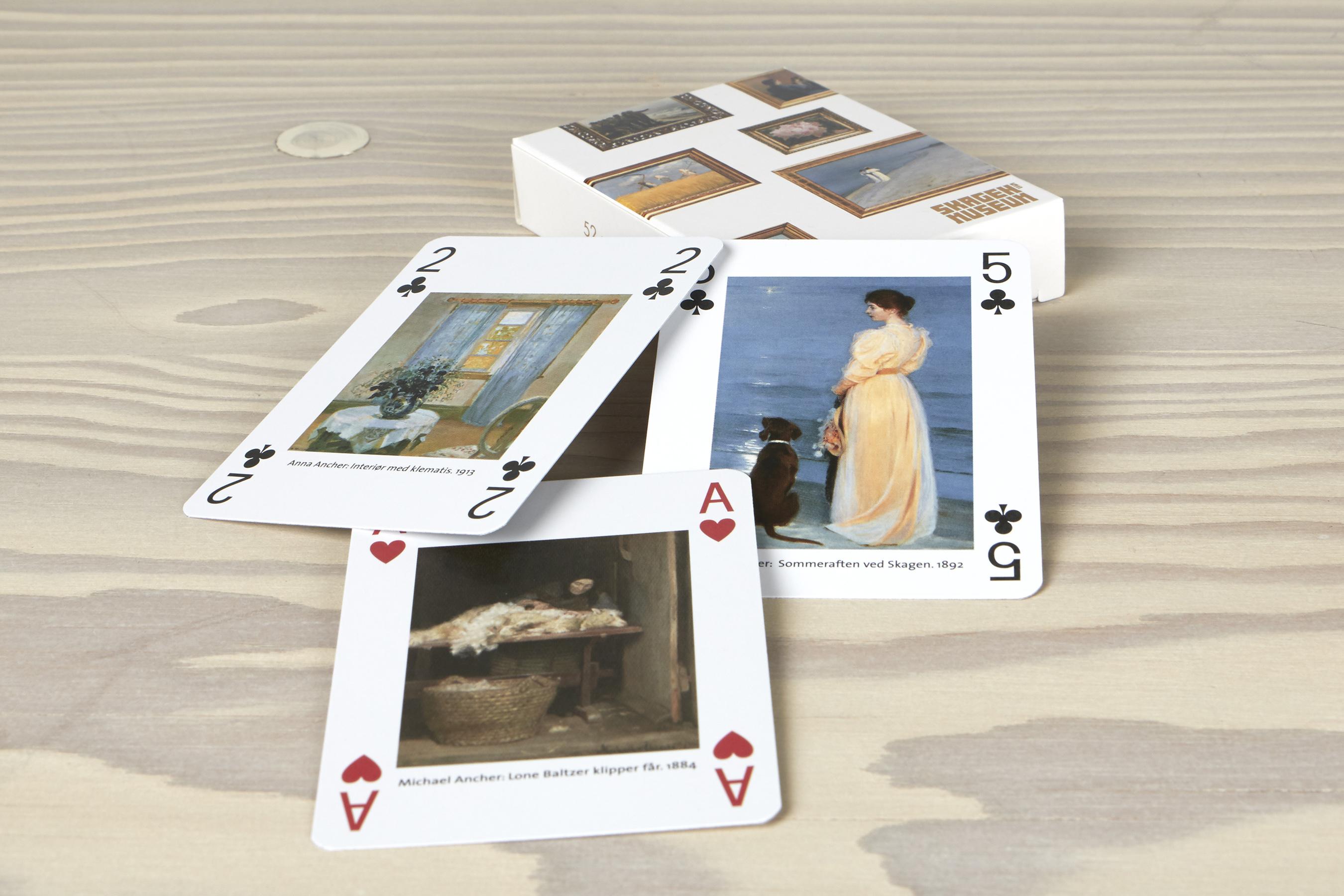 Spillekort | Æske 2 | Værker fra samlingen på Skagens Museum