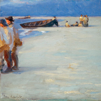 Undervisningsmateriale: Den blå time – P.S. Krøyers malerier