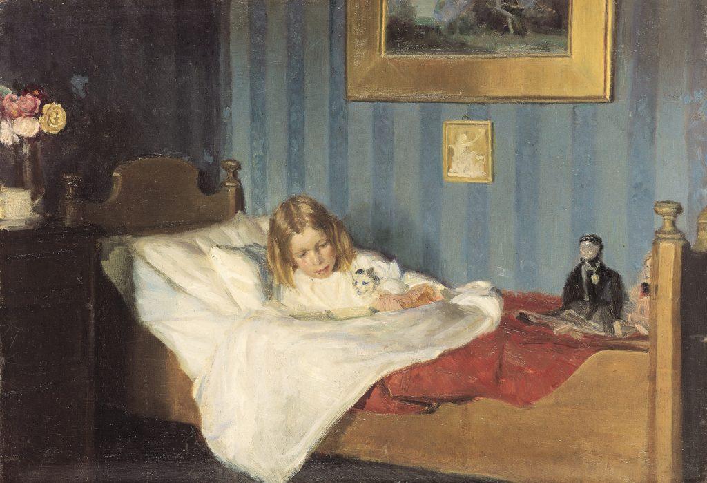 Michael Ancher: En rekonvalescent. C. 1890 | Skagens Kunstmuseer.