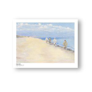 Cyklister i havstokken