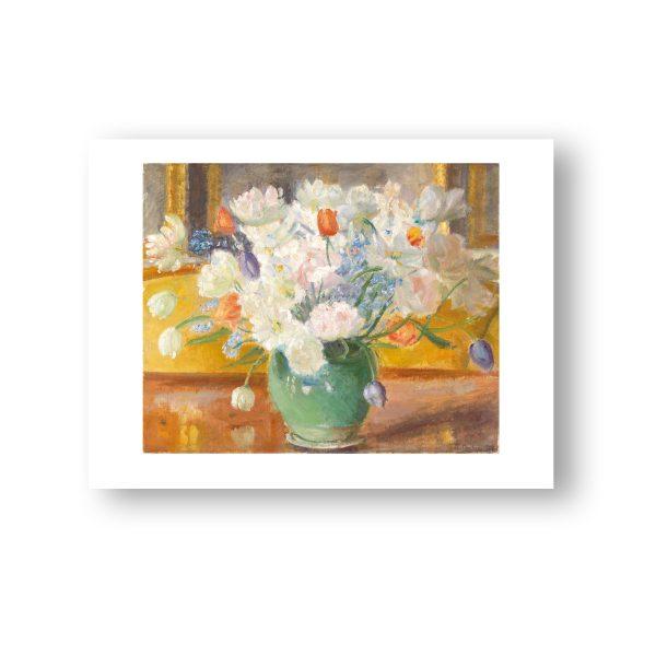 En buket blomster