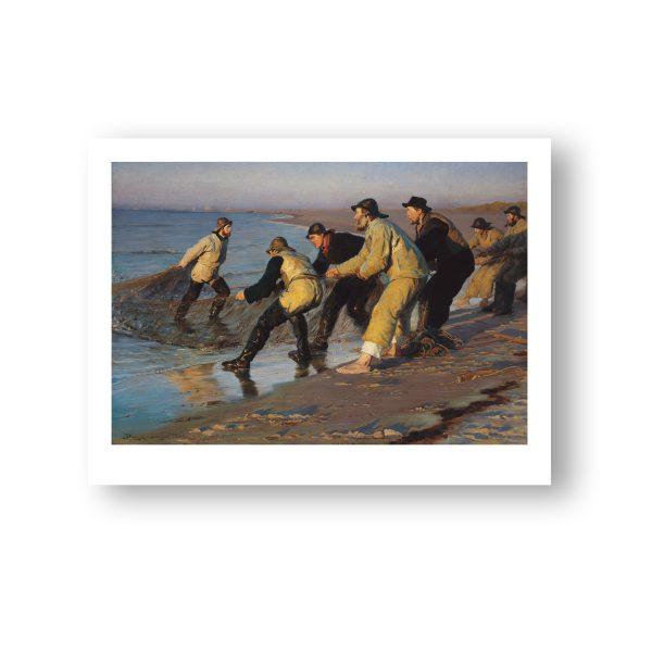 Fiskere trækker vod