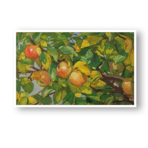 Æbler på gren