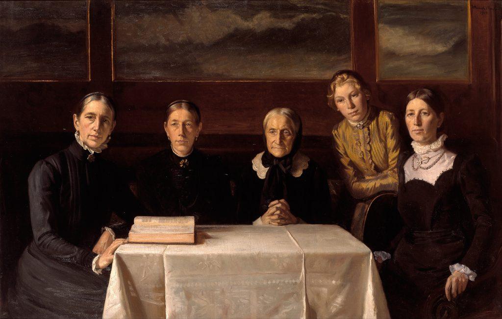 Michael Ancher. Juledag 1900. 1903. Skagens Kunstmuseer.