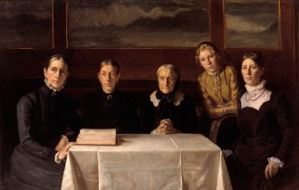 Michael Ancher. Juledag 1900. 1904 |  Anna Anchers broche