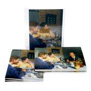 Dobbeltkort | Æske 5 | P.S. Krøyer. Ved frokosten.