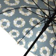 Paraply med Bindesbøll mønster