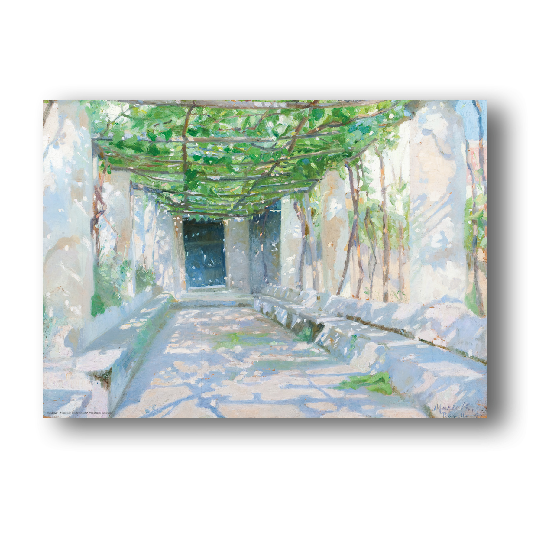 Plakat med motiv malet af Marie krøyer
