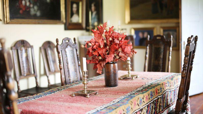 Den lange spisestue | Anchers Hus