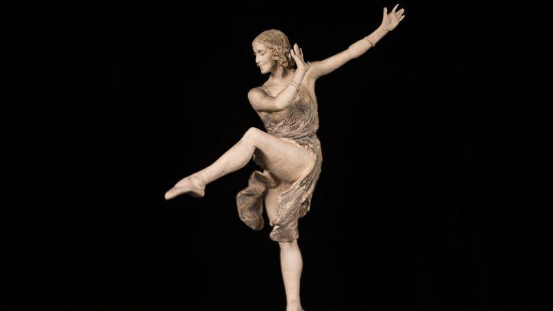 'Fanget i gips – Axel Lochers teaterstatuetter' på Skagens Museum