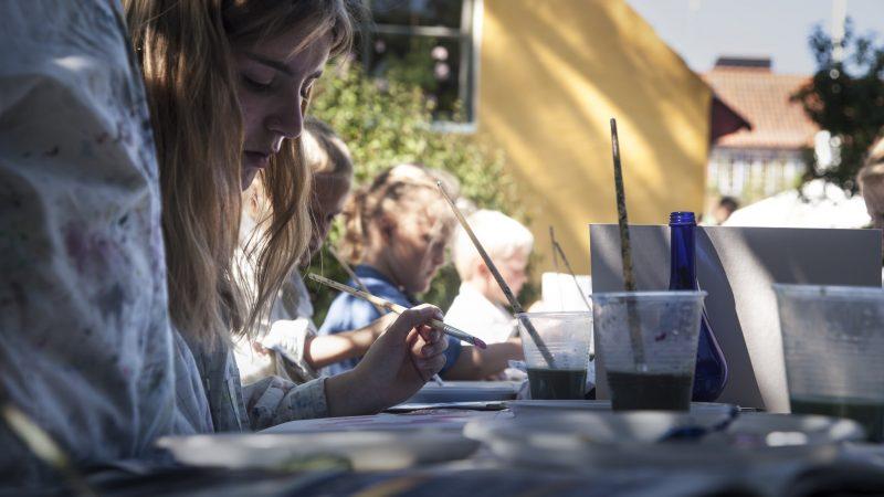 Malerskole for teens på Skagens Museum