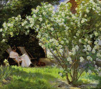 P.S. Krøyer. Roser. 1893. SKM1851