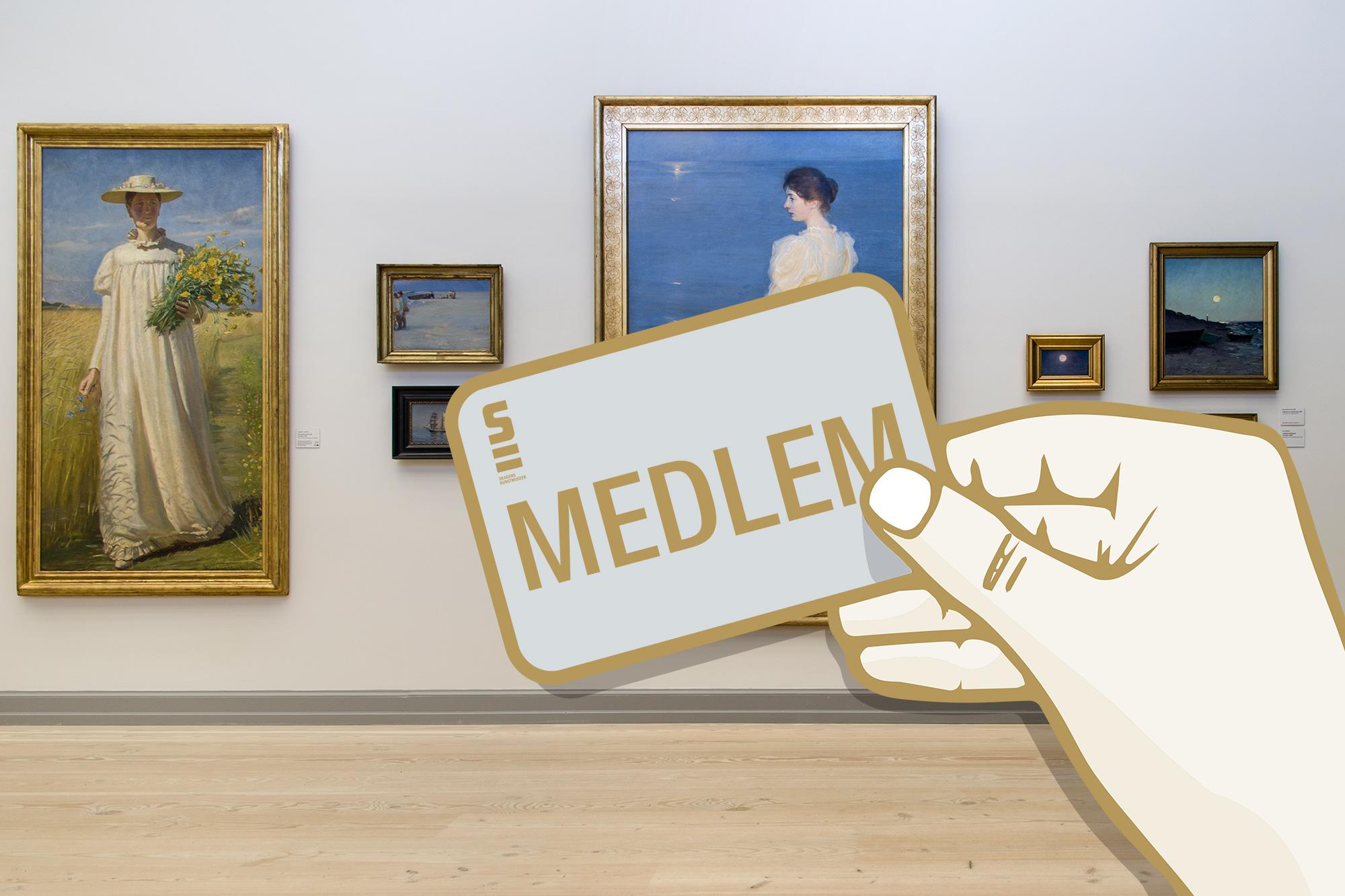 Bliv medlem af Skagens Museums Venner