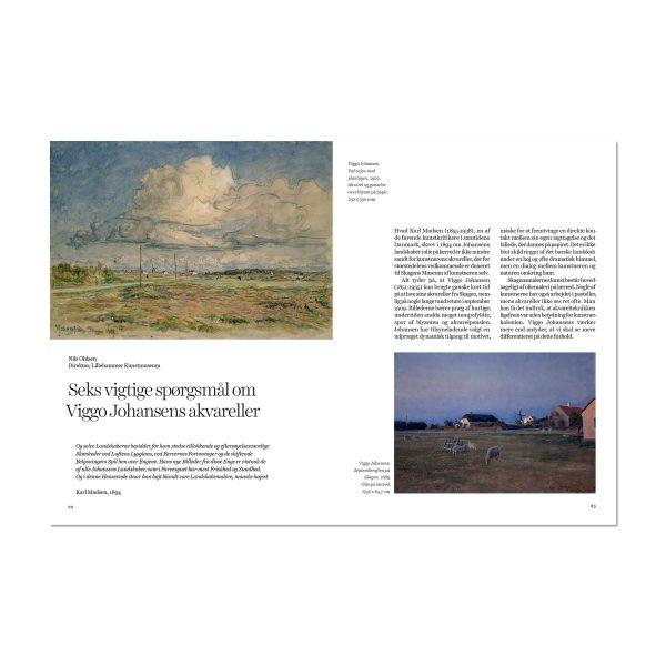 Opslag fra bogen 'Viggo Johansen - Landskabernes tillokkende skønhed'