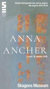 Anna Ancher udstillingsplakat