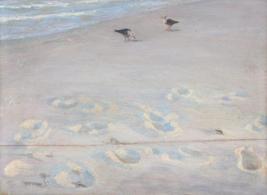 P.S. Krøyer, Fodspor i Sandet fra 1883