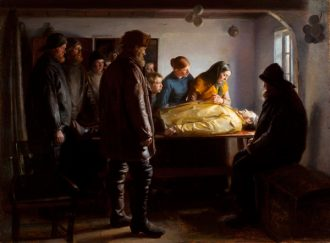 Michael Ancher. The drowned fisherman. 1896. Courtesy of SMK - The National Gallery of Denmark