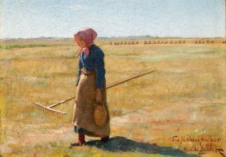 Harvesting Girl