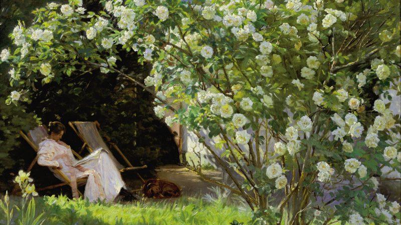Peder Severin Krøyer. Roses. 1893